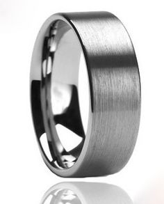 Fasten | Mens Ring | Tungsten | Any Size | Wedding Band 2015