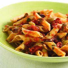 Pasta Puttanesca | Pasta Puttanesca, Pasta and Zucchini Pasta