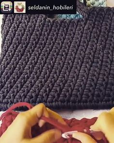[New] The 10 Best Fashion Ideas Today (W Agmayacouture - Diy Crafts - Qoster Crochet Dog Patterns, Crochet Bag Tutorials, Diy Crafts Crochet, Crochet Videos, Crochet Market Bag, Crochet Tote, Crochet Handbags, Crochet Purses, Ribbon Embroidery Tutorial