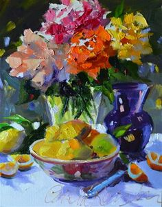 *Lemons and Roses* ~ by Cecilia Rosslee ✿