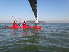 kayaking in the sf bay.