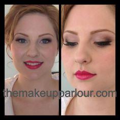 Classic Bridal Makeup, Modern Bridal Makeup, Intense lipstick, Flawless Skin, Airbrush Makeup, themakeupparlour.com