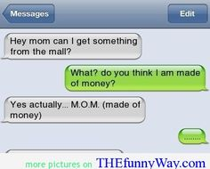 funny text messages for kids - Google Search