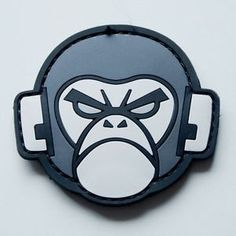 morale patches | Details about MIL-SPEC MONKEY: Morale Velcro Patch Monkey PVC SWAT