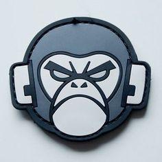 morale patches | Details about MIL-SPEC MONKEY: Morale Velcro Patch Monkey PVC SWAT
