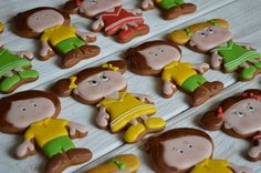 Пряничные человечки. Пряники для детского сада.