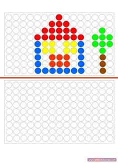 Free Preschool, Preschool Worksheets, Preschool Activities, Brain Activities, Infant Activities, Visual Perception Activities, Free Printable Puzzles, Do A Dot, Educational Games For Kids