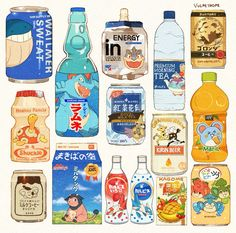 Kawaii Stickers, Anime Stickers, Cute Stickers, Cute Food Drawings, Kawaii Drawings, Cute Food Art, Cute Art, Art Et Illustration, Food Illustrations