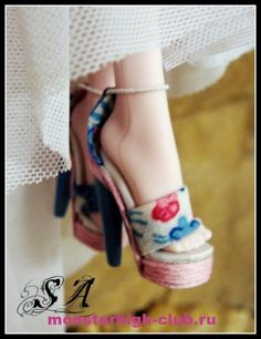 Shoes for Monster High. Tutorial.