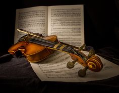 The Violin Lesson - My daughters first musical instrument
