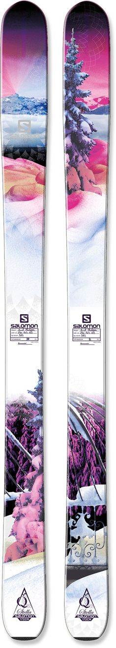 Salomon Stella Skis - Women's - - My skiis :) Ski Et Snowboard, Ski Ski, Snowboard Goggles, Ski Goggles, Ski Equipment, Snowboard Equipment, Go Skiing, Alpine Skiing, Winter