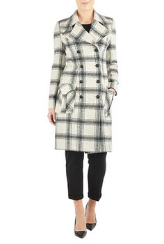 I <3 this Brushed plaid wool blend trench from eShakti go to http://share-eshakti.com/x/ATS40a click on comments