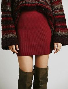 Knit on knit for fall