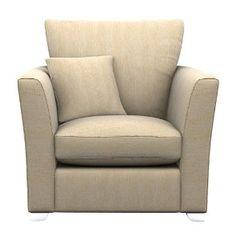 Cavendish Upholstery Richmond Chair, Beige: Amazon.co.uk: Kitchen & Home