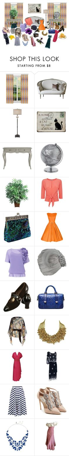 """My Closet"" by jeanstapley ❤ liked on Polyvore featuring interior, interiors, interior design, home, home decor, interior decorating, Nearly Natural, Dorothee Schumacher, Ted Baker and Biba"