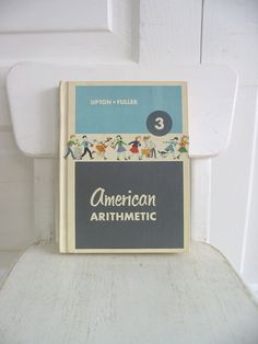 Vintage Child School Math Arithmetic Book Retro Sixties Reader  This vintage school math book is a great addition to your book collection, to give as