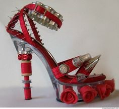 Show Stopping Shoes!  2013 Shoe Trends: Are They Shoes Or Art?