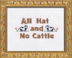 PDF: All Hat and No Cattle
