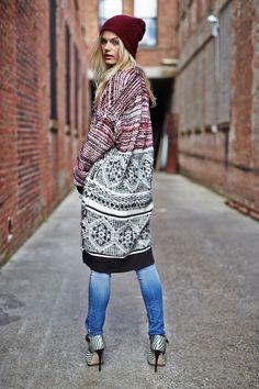 KIIND OF || Juniper Sweater, Empower Blade Jeans