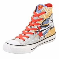 Converse Chuck Taylor Superman Grey/Blue Hi Tops. Asics Volleyball Shoes, Asics Running Shoes, Converse Chuck Taylor All Star, Chuck Taylor Sneakers, Converse Shoes Men, Tiger Shoes, All Star Shoes, Top Shoes, Comfortable Shoes