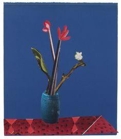 Anke Roder 'Amaryllis' 2015 collage 23,5 x 20 cm