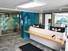 Office Interior signage for Te Āhuru Mōwai - Wall Graphics, Window Graphicss and Acrilic Signage combine to creating a welcoming space