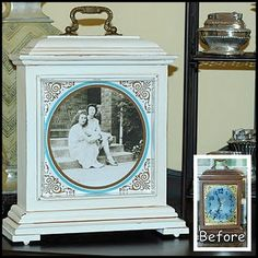 Clock Into A Picture Frame