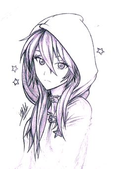 anime hoodie hood down - Google Search