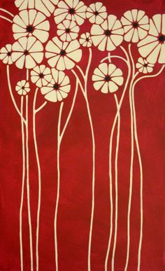 painted canvas quilt inspiration