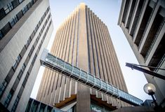 An image from the SkyBridge Quest series on our Behance profile capturing the skybridges of Cape Town. #architecture #photography #skybridge #capetown #capetownetc #cityscape Sky Bridge, Cape Town, Skyscraper, Multi Story Building, Behance, Profile, Architecture, Image, Photography