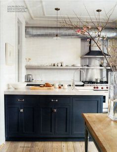Jenna Lyons Kitchen via Domino