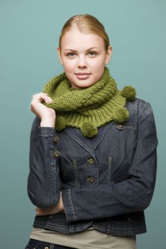 Loom Knit - Cowl made on Extra Large 41 peg loom