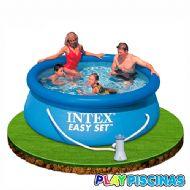 #piscinadesmontable #piscinas 244x76cm #depuradora #intex #playpiscinas #piscinahinchable #piscinainfantil #piscinapvc #piscinaredonda #piscinacuadrada #piscinarectangular #ventadepiscinas #verano2014 #verano #ganasdepiscina  http://www.playpiscinas.com/piscinas-hinchables-17-c.asp