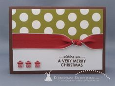Stampin Up Weihnachten Thinlits Wishing You 04 - Craft ~ Your ~ Home Stampin Up Christmas, Very Merry Christmas, Christmas And New Year, Christmas Holidays, Stampin Up Weihnachten, Stampin Up Cards, Holiday Crafts, Your Cards, Fundraising
