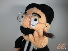 Groucho Marx, patrón gratis