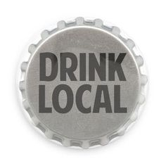 Support your local bars and breweries. Drink local, drink often! Each pin back button measures approximately inches in diameter and has a metal back with pin. Local Bars, Tap Room, Brewery, Wines, Buttons, Jacket Patches, Pin Button, Support Local, Denim Jackets