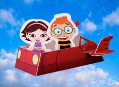 Disney Preschool Printable: Little Einsteins Rocket