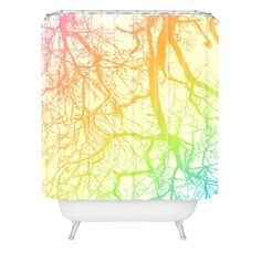 Shannon Clark Bright Branches Shower Curtain | DENY Designs Home Accessories