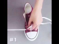 4 sposoby na sznurówki