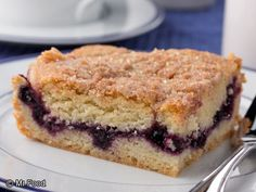 Neighborhood Blueberry Coffee Cake   mrfood.com