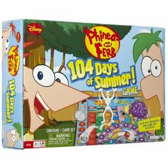 Amazon.com: Phineas And Ferb 104 Days Of Summer Board Game: Toys & Games