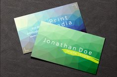 Graphic Designer Business Card ~ Business Card Templates on Creative Market