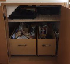 階段下収納庫(廻り階段編)を棚とパイプと●●で大容量のパントリー&クローゼットに!|LIMIA (リミア) Shoe Rack, Organize, Organization, Getting Organized, Organisation, Shoe Racks, Tejidos