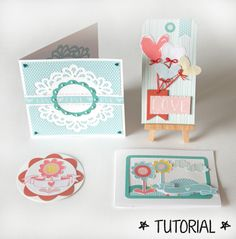 Ideas for Mother's Day cards. Made using Sizzix dies and free downloadable patterned papers (link included)