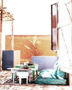 Morocco // Bring bohemian into your home. Casual, exotic, eclectic, we love the effortless way Moroccan style combines colour and texture. Cardboard Packaging, Morocco Travel, Moroccan Style, Beautiful Space, Living Room Interior, Rug Making, Biodegradable Products, Sustainability, Exotic