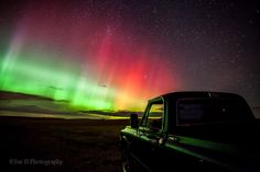 Just another reason to love Montana!   Northern lights near Cut Bank, MT