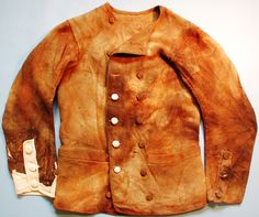Jacket from The Yorkshire Mary Rose, the ship General Carleton of Whitby. Sank 1785.