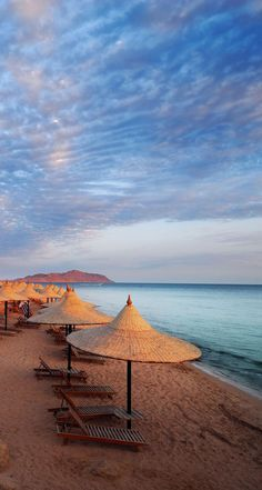 Sharm El Sheikh Beach, on the Red Sea, Egypt