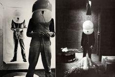 Small Room (TV Helmet) by Walter Pichler, 1967