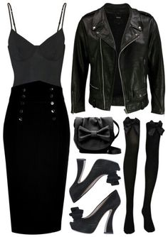 Rock outfit Polyvore